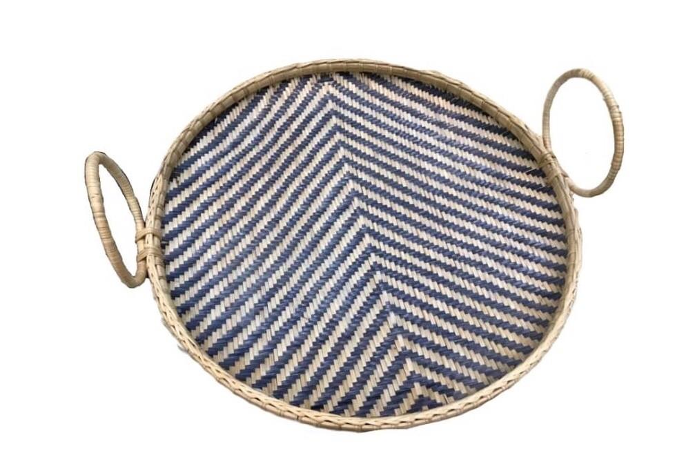 Circle basket Bam boo