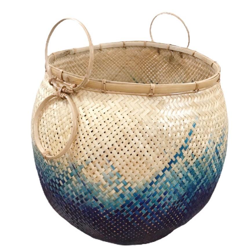 'Pot' Blue ocean color Size L
