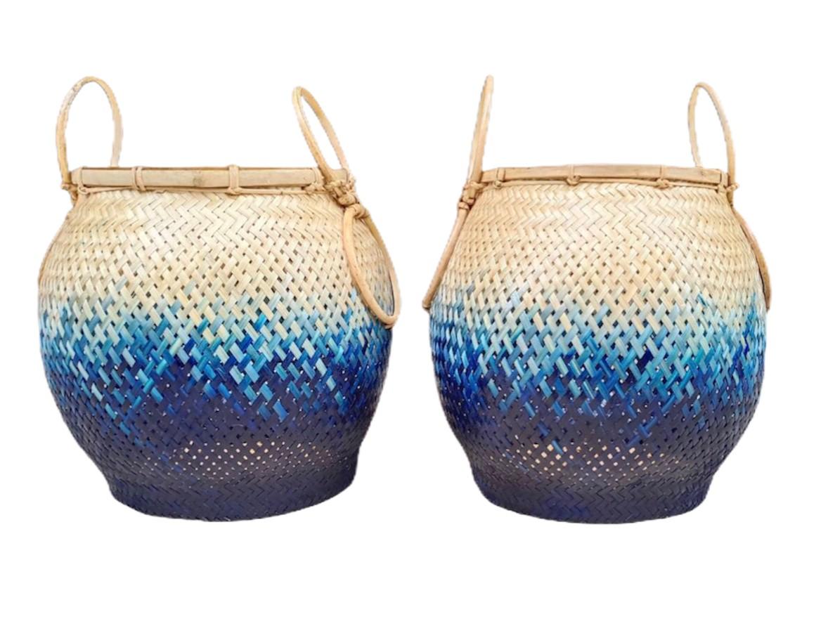 'Pot' Blue ocean color Size S