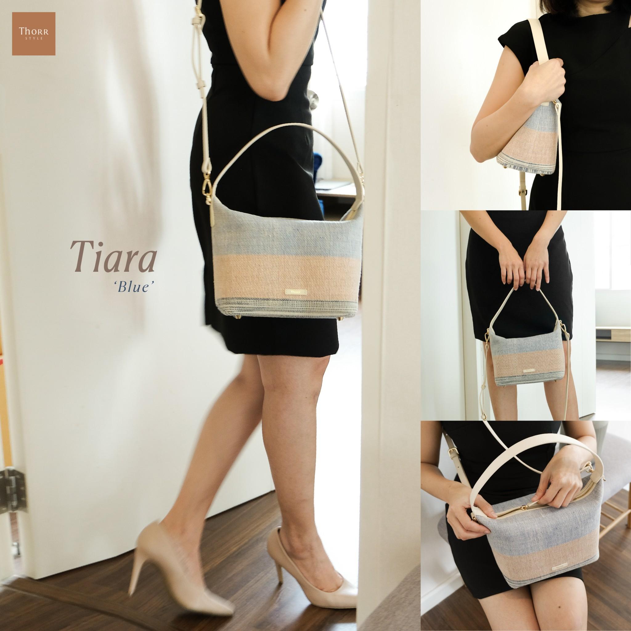 Tiara  in Blue bag BG-132