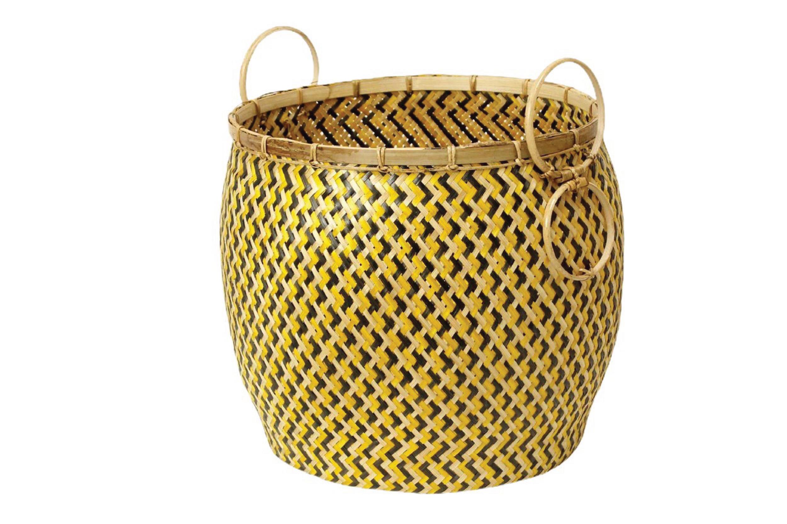 Pot  Yellow& Balck & Natural PT-03