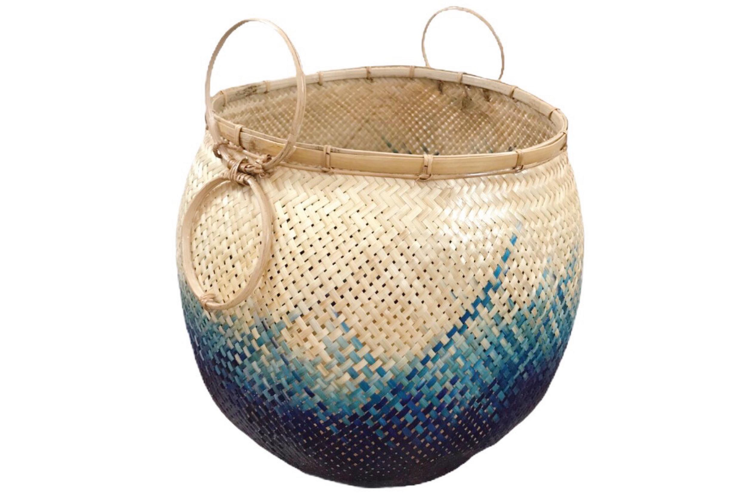 Pot Blue ocean color Size L PT-01