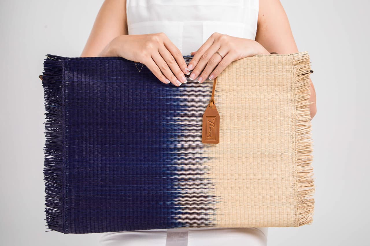 'Gradient' bag / Navy blue Beach