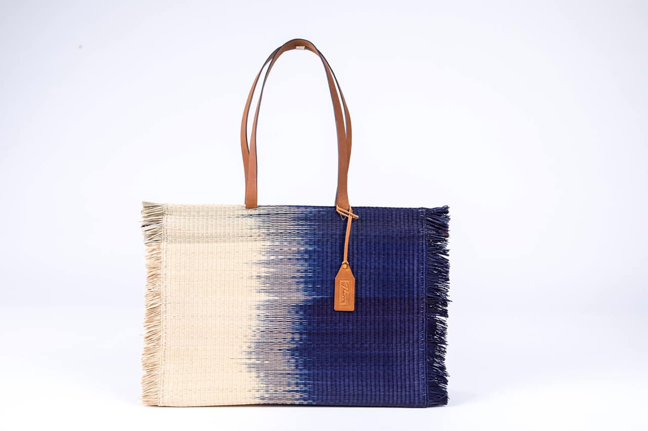 'Gradient' bag / Navy blue Beach