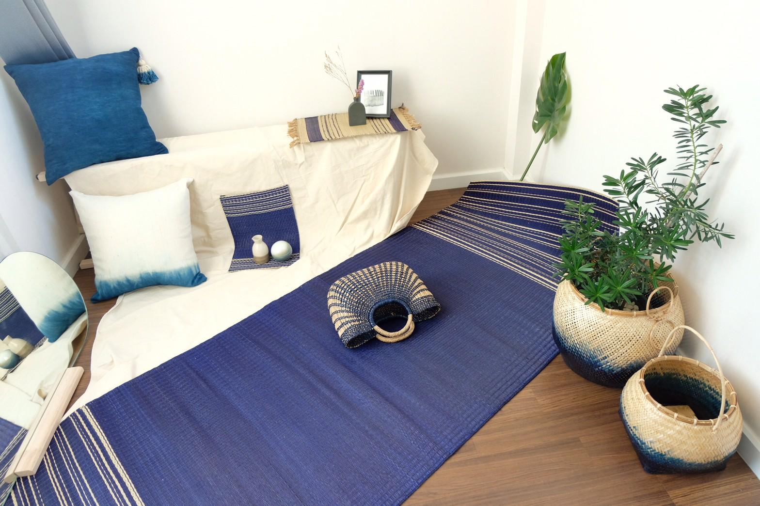 Saifon mat Blue