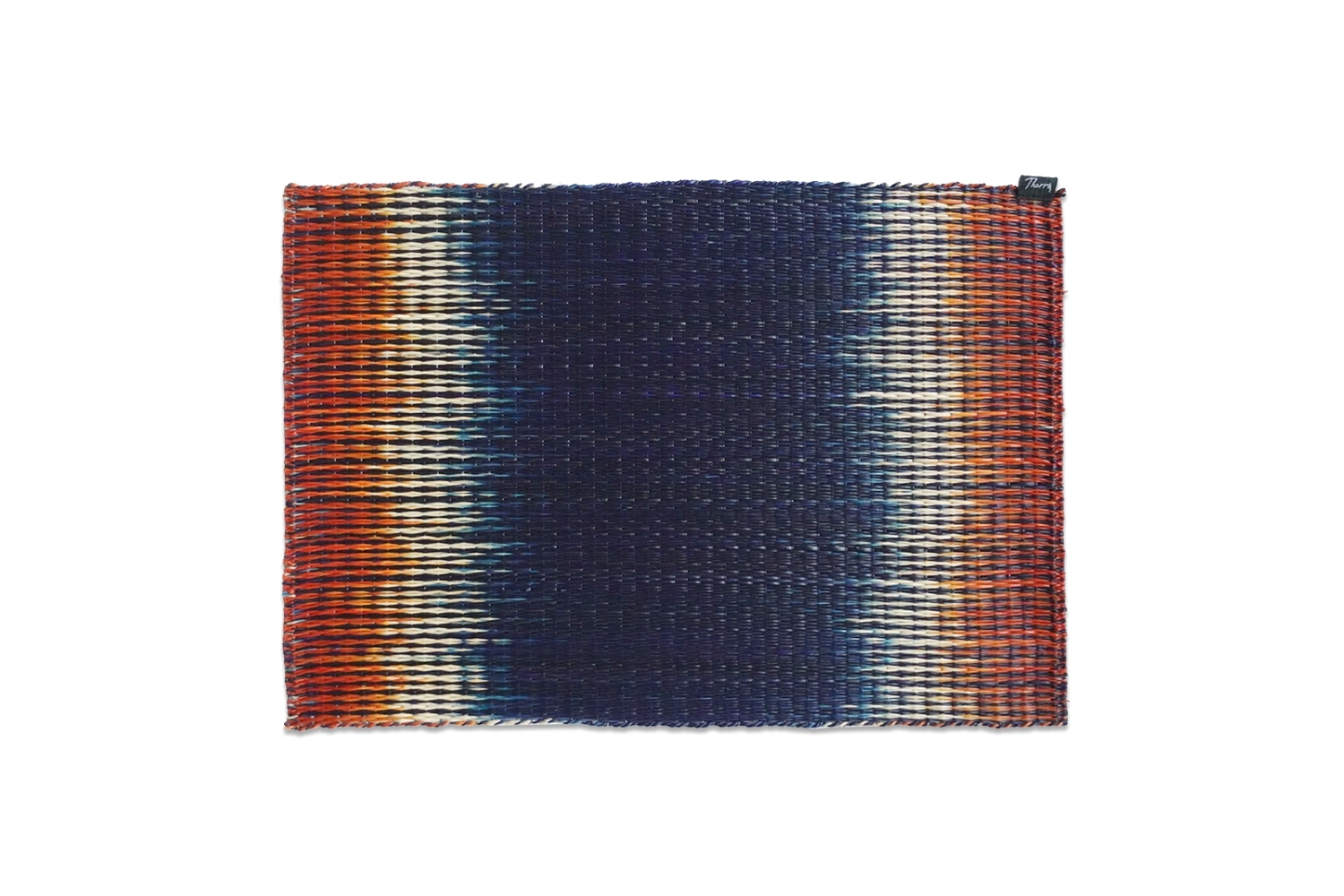 Mysterious orange and navy  placemat DNP-03